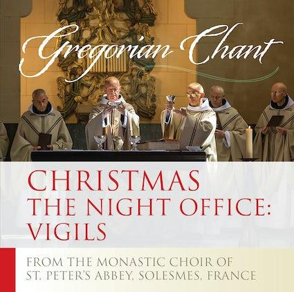 Gregorian Christmas Chants.Christmas The Night Office Vigils